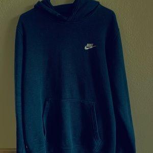 Navy blue nike hoodie L
